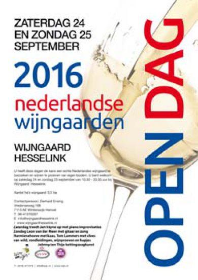 Open dagen Wijngaard Hesselink